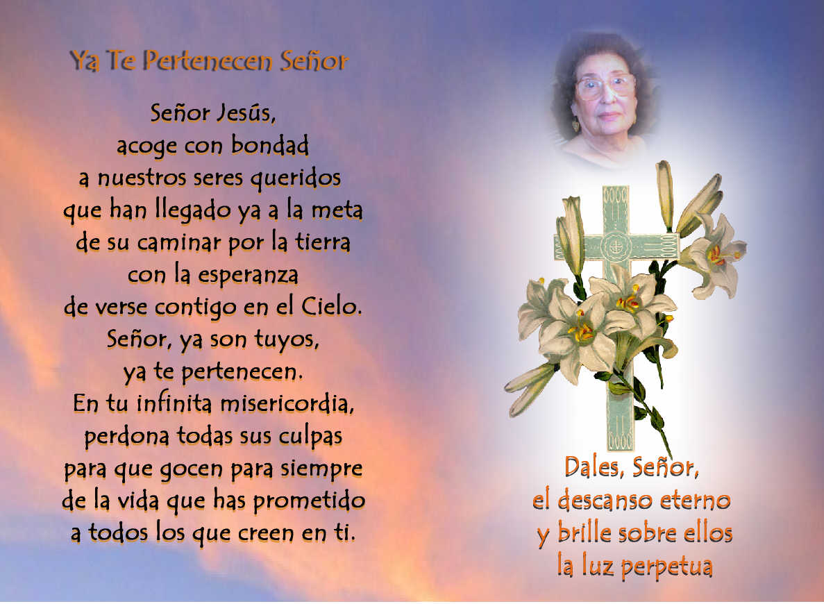Oraciones Para Novenarios De Difuntos Submited Images Pic ...